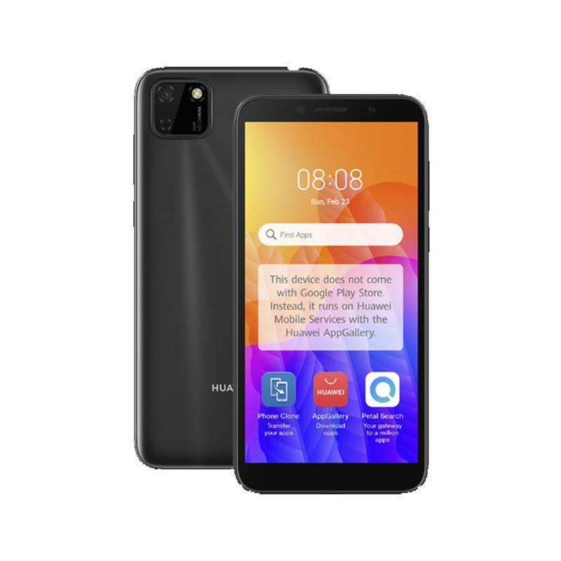 Mobile Phones Huawei Y5P 2GB 32GB Dual SIM 4G Black