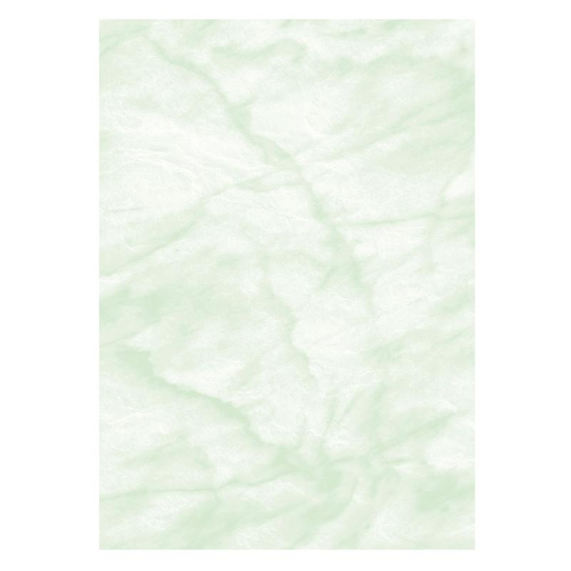 Crafts Paper Computer Craft Marble Paper A4 90gsm Green (Pack 100)
