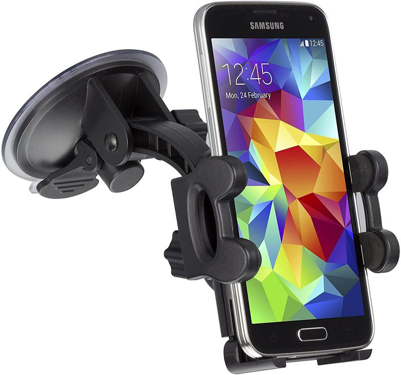 Accessories KIT Suction Fit Car Phone Holder Black