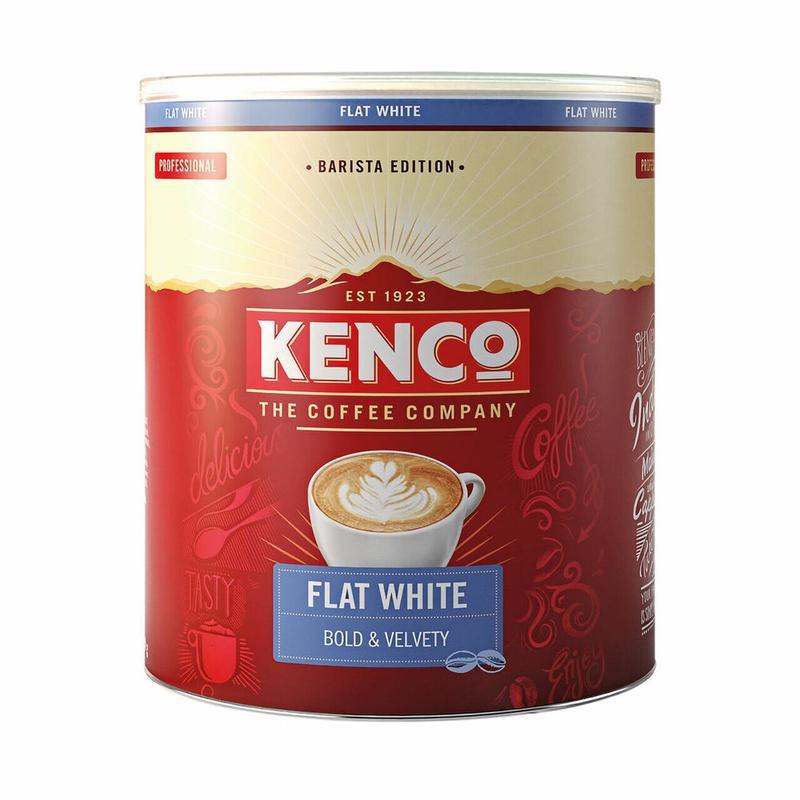Coffee Kenco Flat White Instant 1kg
