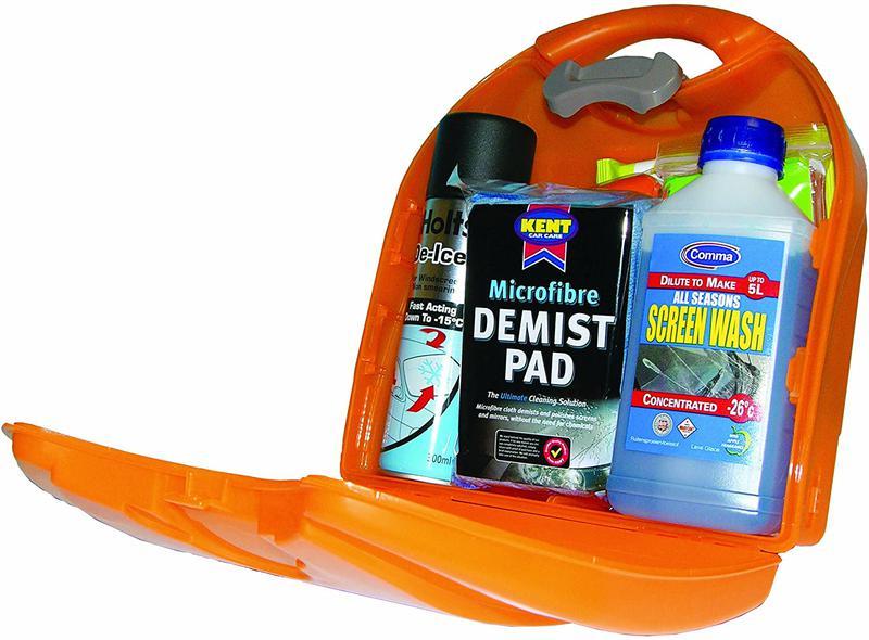 First Aid Kits & Refills Astroplast Winter Driving Kit Orange