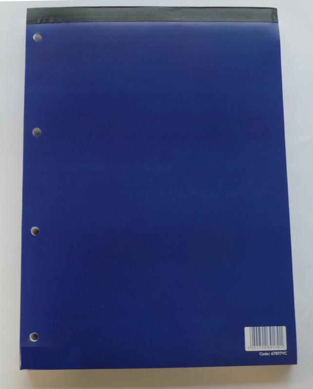 Refill Pads ValueX A4 Refill Pad Ruled 320 Page Blue (Pack 5)