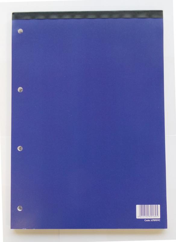 Value A4 Refill Pad Headbound Feint Ruled 160 Page PK10