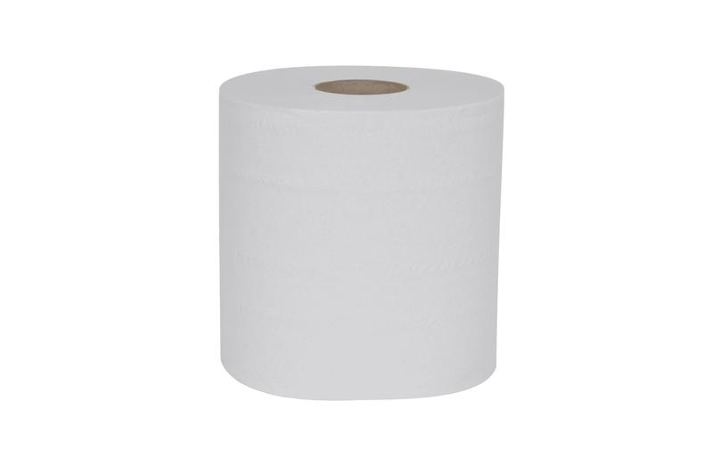 Hand Towels & Dispensers ValueX Centrefeed Roll 2 Ply White(Pack 6)