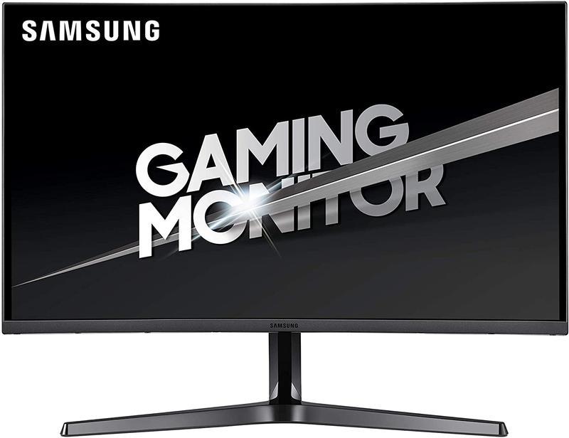 Monitors Samsung C27JG52 27IN QHD Curved Monitor