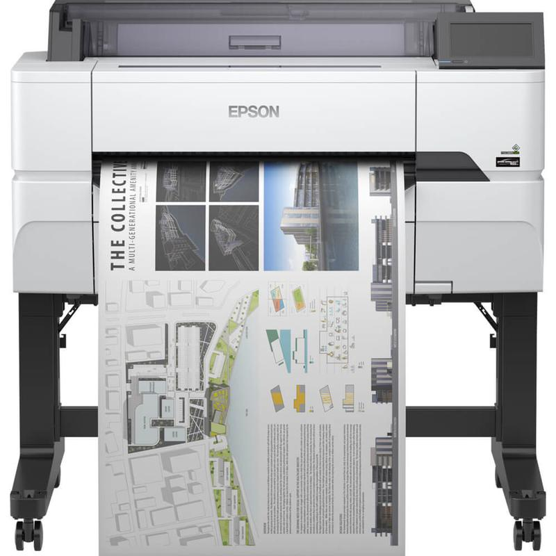 Inkjet Printers Epson SCT3405 A1 LFP Printer With Stand