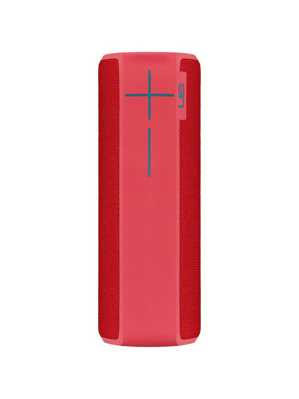 UE Boom 2 Wireless Speaker Red and White