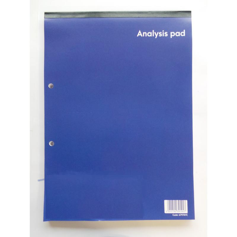 ValueX A4 Analysis Pad 8 Cash Columns 160 Pages (Pack 10)