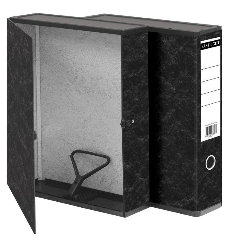 Box Files ValueX Box File Paper on Board Foolscap 50mm Spine Width Clip Closure Cloud
