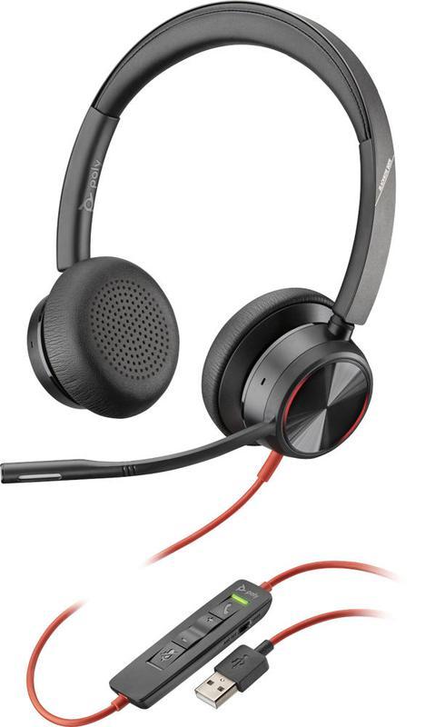 Headsets Blackwire 8225 USB A WW Binaural Headset