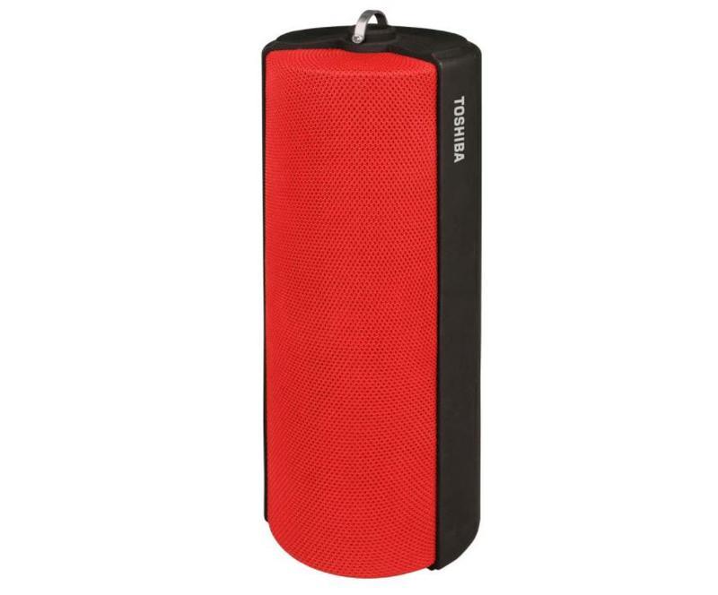Speakers Toshiba Bluetooth Fabric Speaker Red