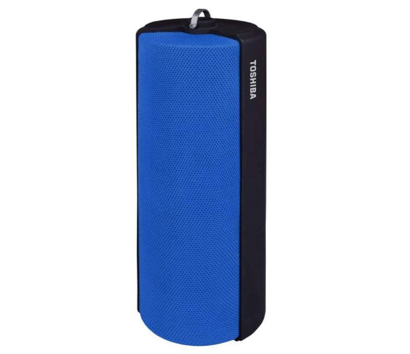 Speakers Toshiba Bluetooth Fabric Speaker Blue