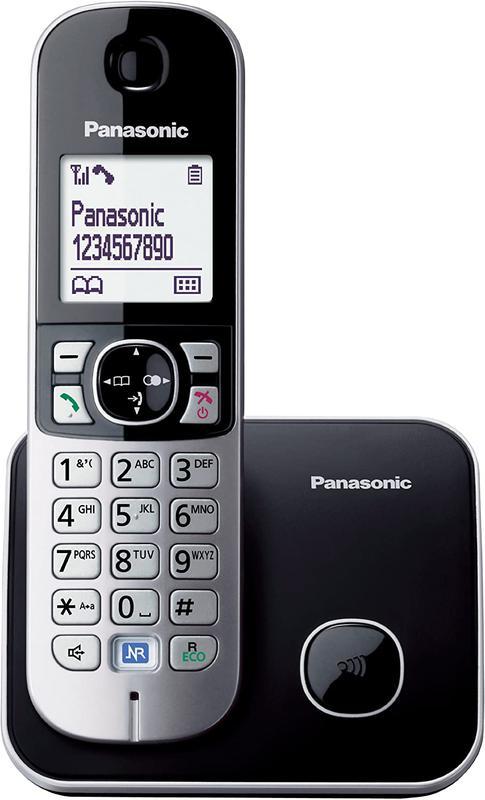TG6811 DECT Phone Single Silver Black