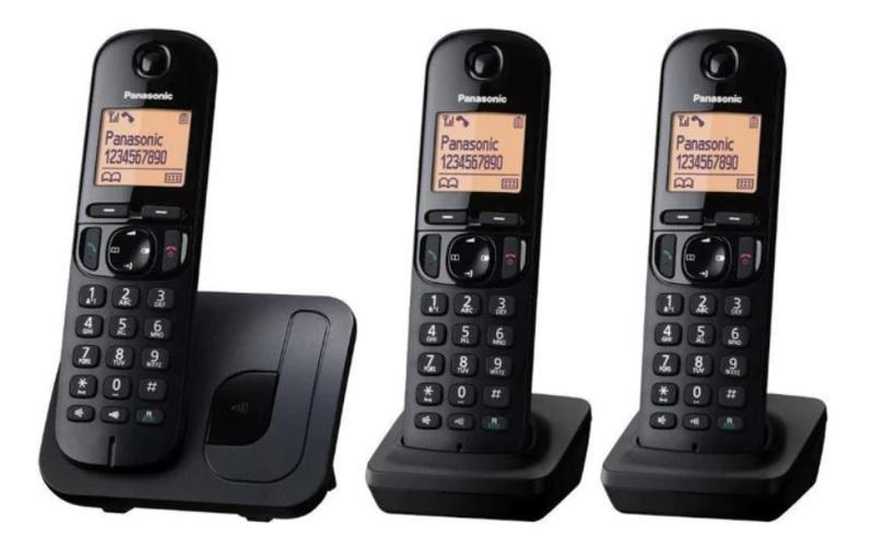DECT Phone with Call Blocking Trio Black