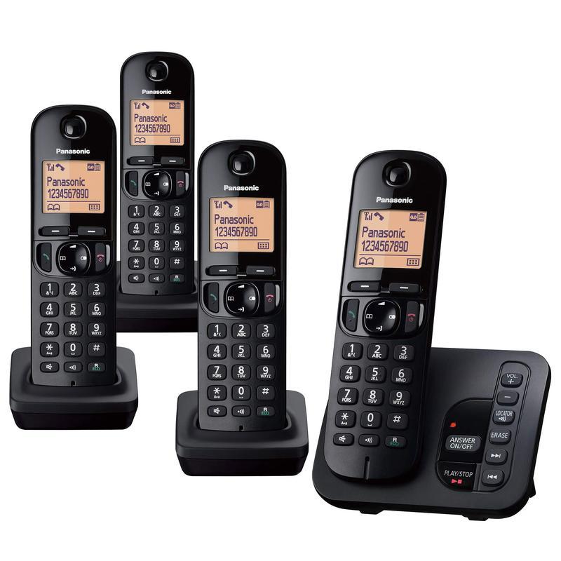 DECT Phone TAM and Call Blocking Quad