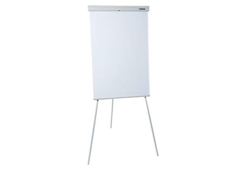 Dahle Conference Tripod Flipchart Easel Magnetic 600x990mm Grey D00511895