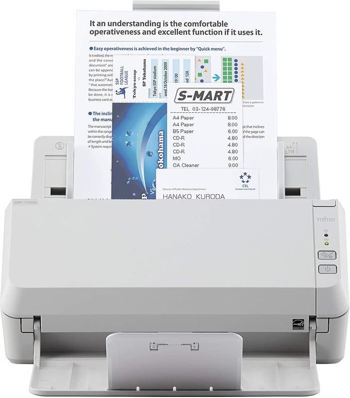 Scanners SP1130N A4 Duplex ADF Office Scanner