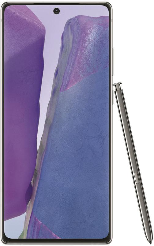 Tablets Samsung Galaxy Note 20 Enterprise Edition 5G 6.7 Inch Android 10 Dual SIM 8GB RAM 256GB ROM Grey Smartphone
