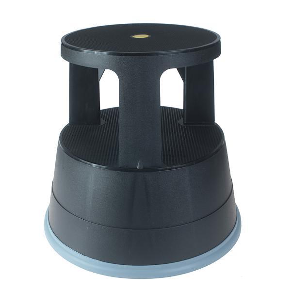 ValueX Step Stool Plastic Black  T7PLSTE-BK