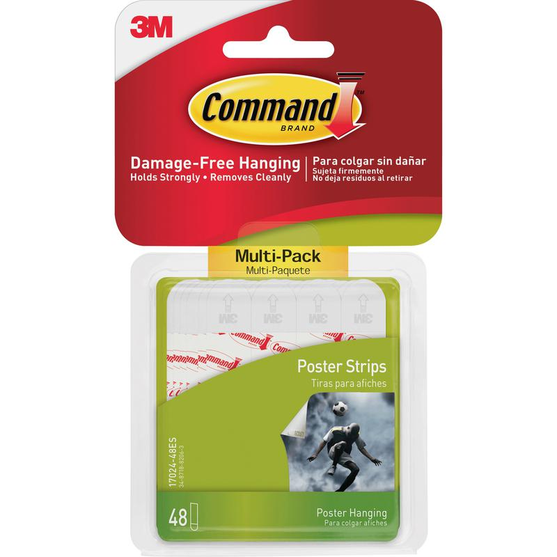 Command Poster Strips Value Pack 17024-VP (Pack 48) 7100235860