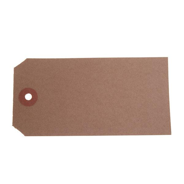 ValueX Reinforced Unstrung Tag 120x60mm Buff (Pack 1000) T257880