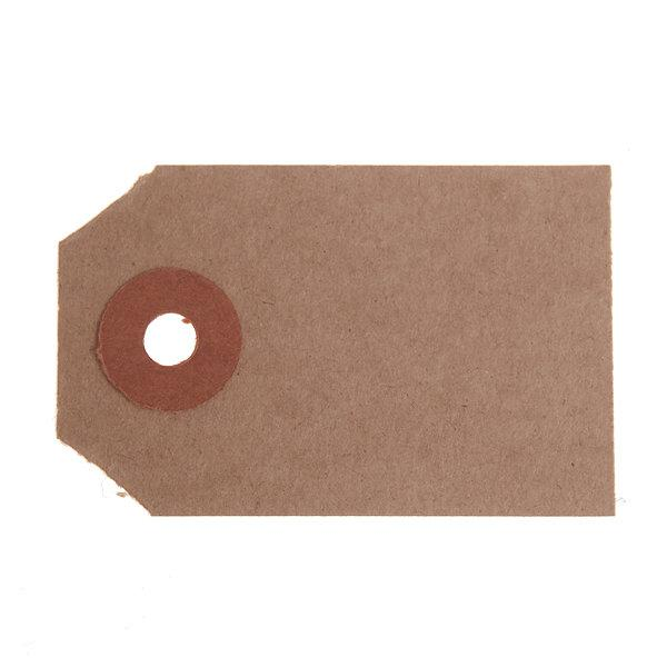 ValueX Reinforced Unstrung Tag 70x35mm Buff (Pack 1000) T257852