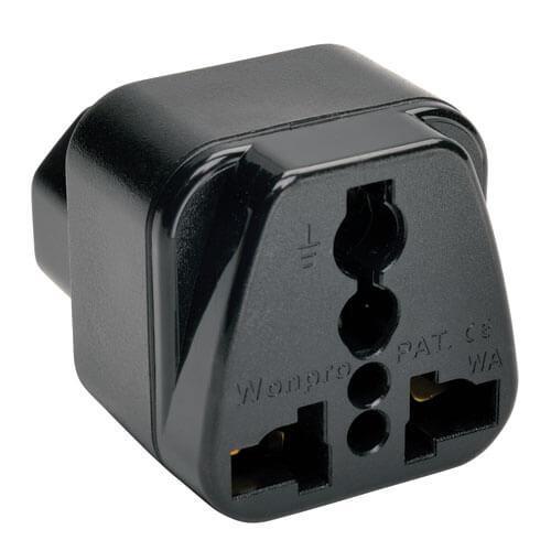 Tripp Lite Multi International Power Plug Adapter for IEC 320 C13 Outlets