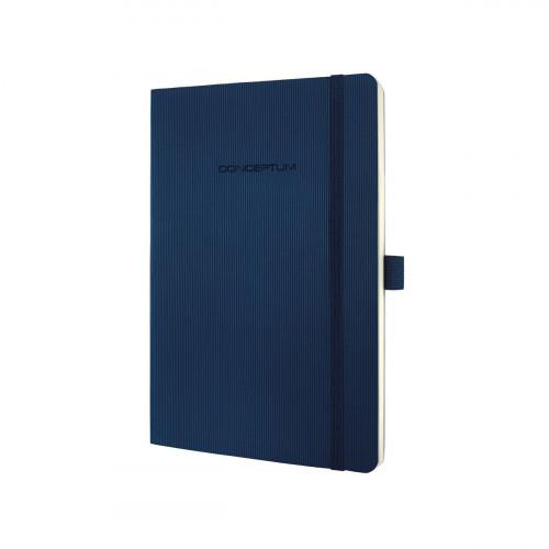 Sigel CONCEPTUM A5 Casebound Soft Cover Notebook Ruled 194 Pages Blue 3 for 2 Offer