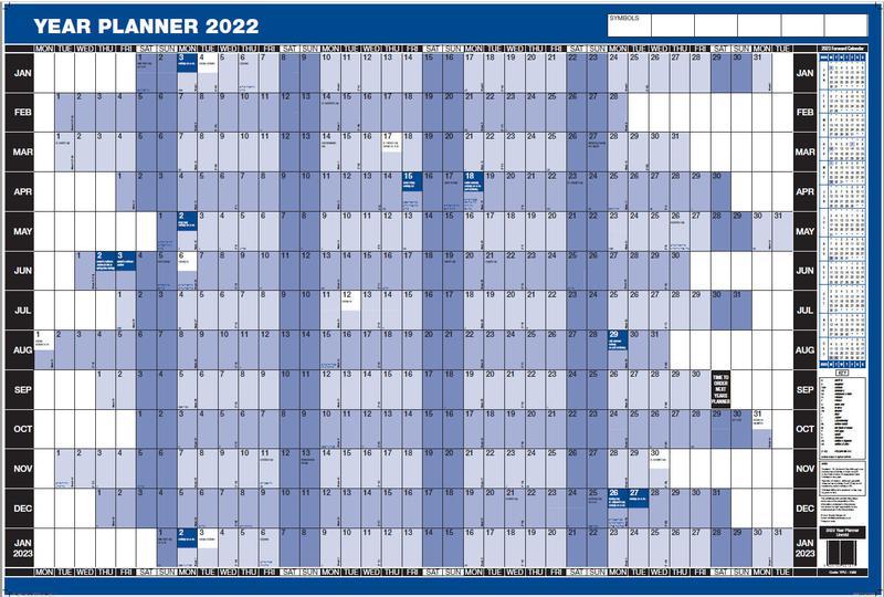 ValueX Year Planner Unmounted 2022 YPU