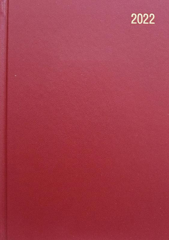 ValueX Diary A5 Day Per Page 2022 BURGDY BUSA51 Burg