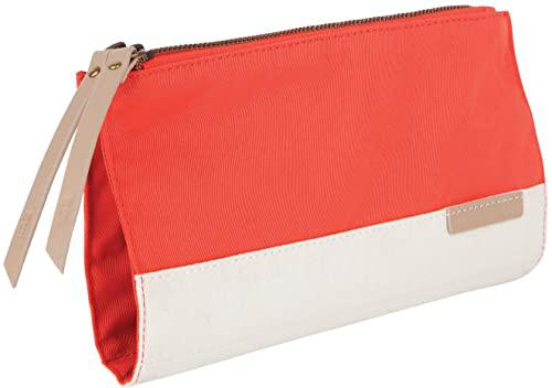 STM Grace Womens Accessory Clutch Bag for Computer Cables Hard Drives Pens Phones and More Lifetime Warranty Polyester Blue Cyan Coral Dove