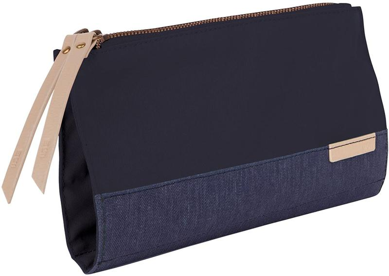 STM Grace Womens Accessory Clutch Bag for Computer Cables Hard Drives Pens Phones and More Lifetime Warranty Night Sky