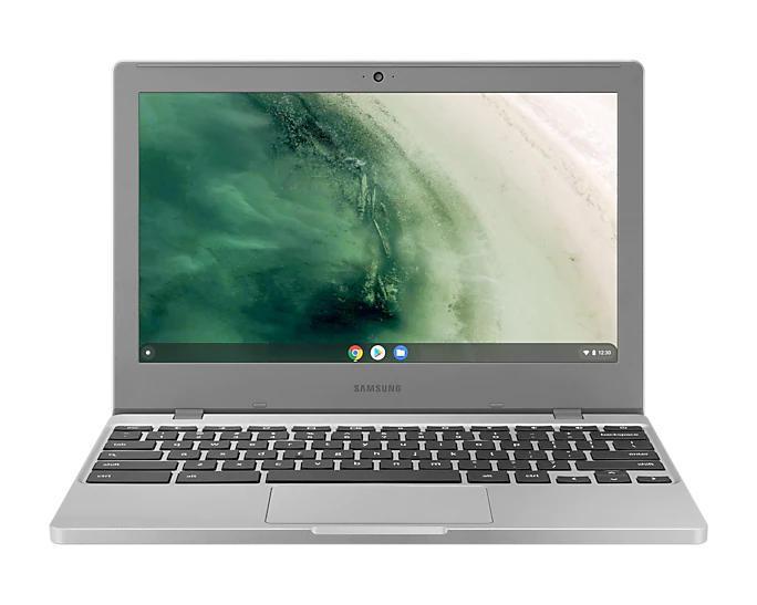 Laptops Samsung XE310XBA Chromebook 11.6 Inch Intel Celeron N4000 4GB RAM 32GB eMMC WiFi 5 802.11ac Chrome OS Grey