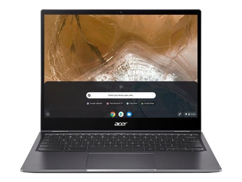 Laptops Acer Chromebook Spin 13 CP713 2W 54PK 13.5 Inch Touchscreen 10th gen Intel Core i5 10110U 8GB 128GB SSD Chrome OS Grey