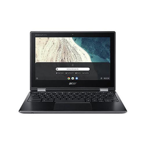 Laptops Acer Chromebook R752T C1Y0 11.6 Inch Touchscreen Intel Celeron N4020 4GB LPDDR4SDRAM 32GB Flash Chrome OS Black