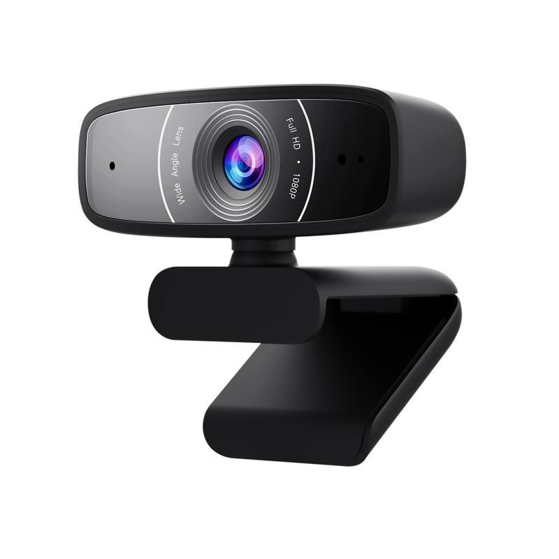 Webcams ASUS C3 Full HD USB 2.0 Webcam with Mic