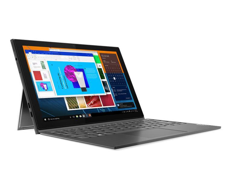 Laptops Lenovo IdeaPad Duet 3i Hybrid 2in1 10.3 Inch Touchscreen Intel Celeron N4020 4GB 64GB eMMC WiFi 5 802.11ac LTE Windows 10 Pro Notebook Grey