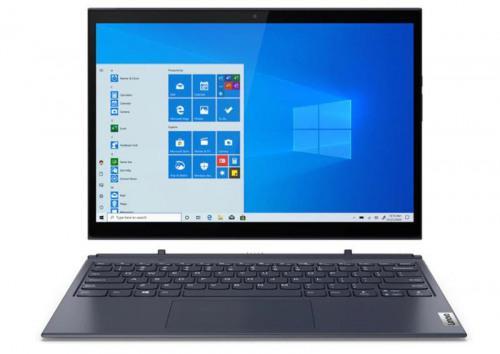 Laptops Lenovo Yoga Duet 7i Hybrid 2in1 13 Inch Touchscreen Notebook 10th gen Intel Core i5 10210U 8GB 256GB SSD WiFi 6 802.11ax Windows 10 Pro Grey
