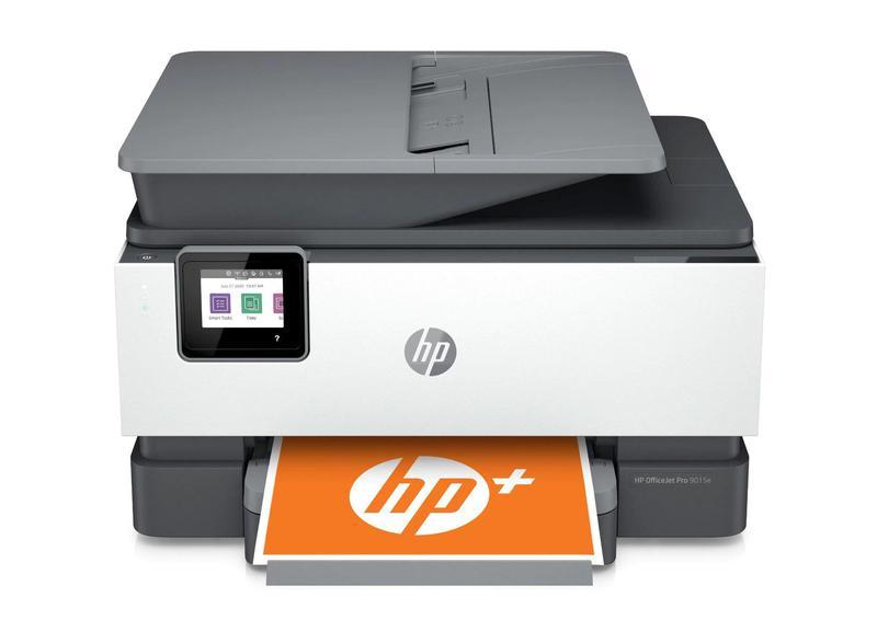 Multifunctional Machines HP Officejet Pro 9015e Wireless Inkjet Colour Multifunction Printer Print Copy Scan Fax