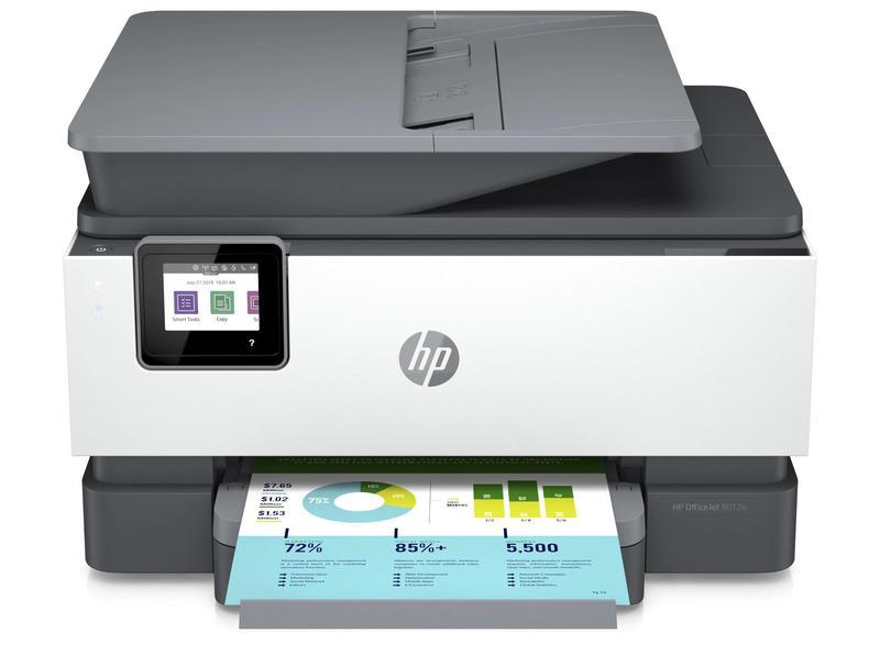 Multifunctional Machines HP Officejet Pro 9012e Wireless Inkjet Colour Multifunction Printer Print Scan Copy Fax
