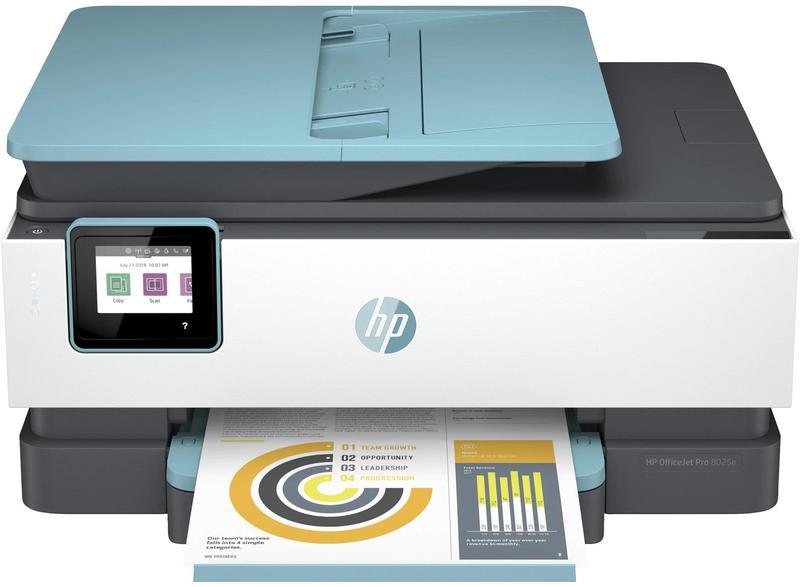 Multifunction Machines HP Officejet Pro 8025e Wireless Inkjet Colour Multifunction Printer Print Scan Copy Fax