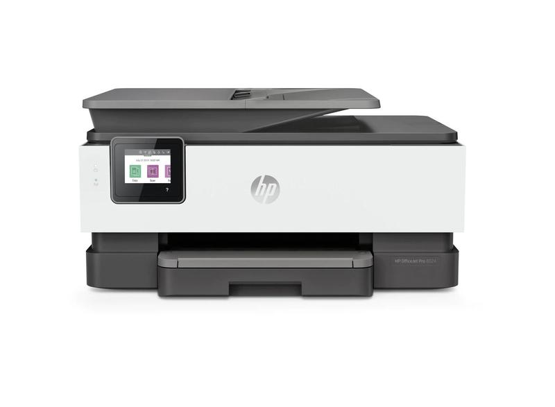 Multifunctional Machines HP Officejet Pro 8024 Wireless Inkjet Colour Multifunction Printer Print Scan Copy Fax