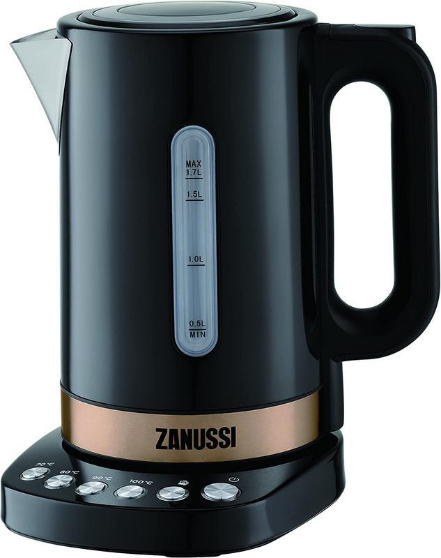 Kitchen Appliances Zanussi ZEK1290DBK Cordless Kettle Black 1.7L