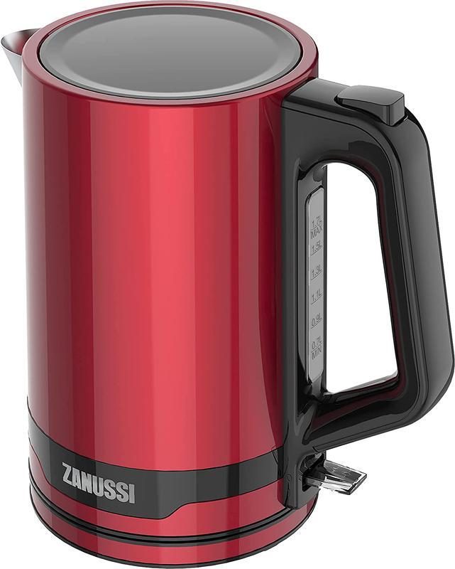 Kitchen Appliances Zanussi ZEK1240RD Red Electric Cordless Kettle 1.7L