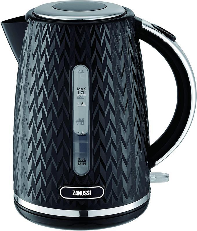 Kitchen Appliances Zanussi ZEK1350BK Cordless Kettle 1.7L Black