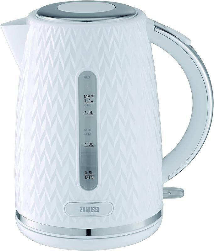 Kitchen Appliances Zanussi ZEK1350WT Cordless Kettle 1.7L White