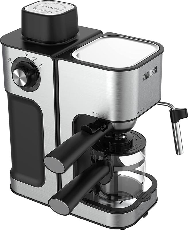 Coffee Machines & Accessories Zanussi ZES-485 0.24L Cappuccino Espresso Coffee Maker
