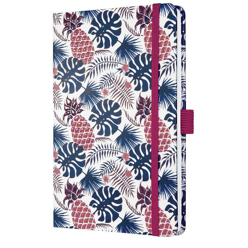 Diaries Sigel Jolie Week to View Diary 2022 Hardcover Tropic Blue J2317