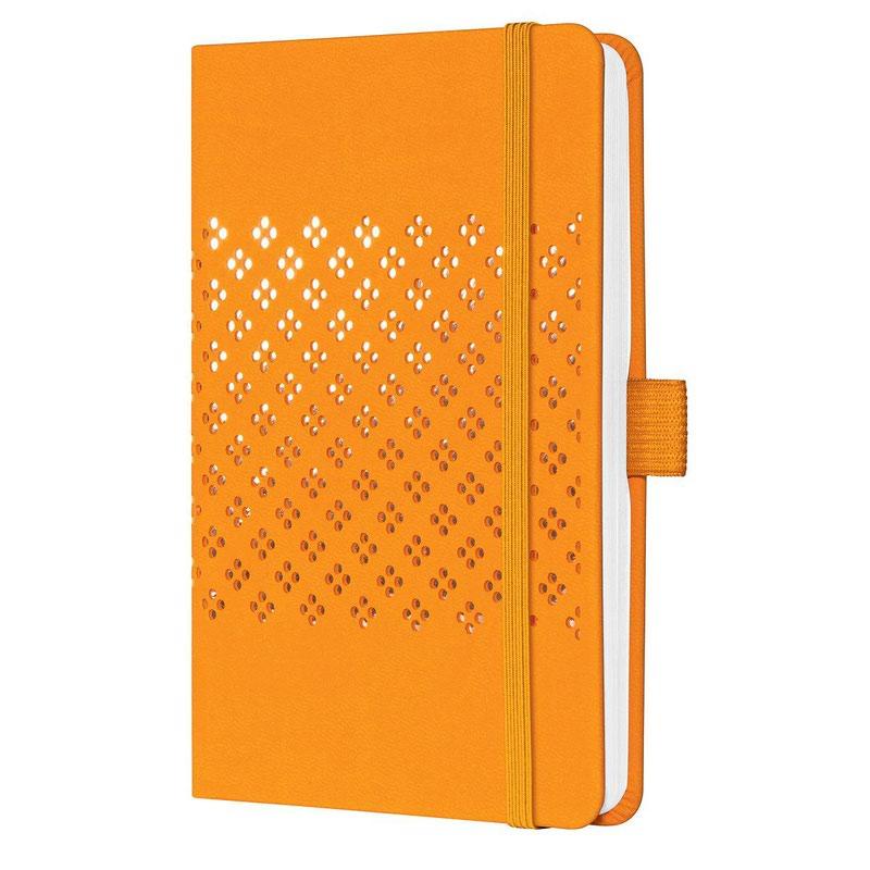 Diaries Sigel Jolie Week to View Diary 2022 Hardcover Mango Orange J2210