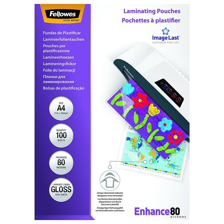 Laminating Pouch A4 2x80 micron (PK100)